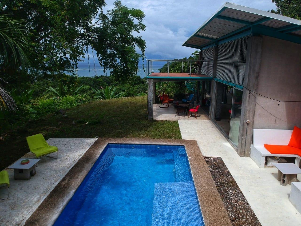 Modern Home with Stunning Ocean Views